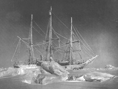 Bélgica atrapado en el hielo