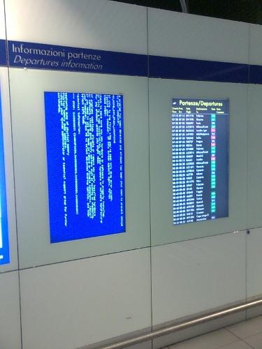 BSOD airport