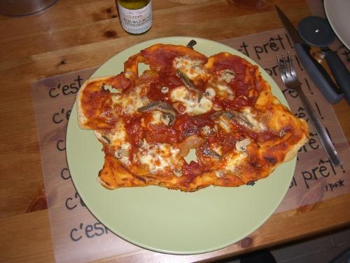 Mi primera pizza
