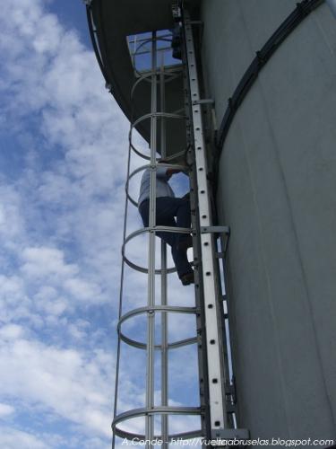 escaleras antena