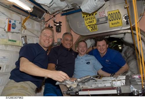Frank de Winne STS 128