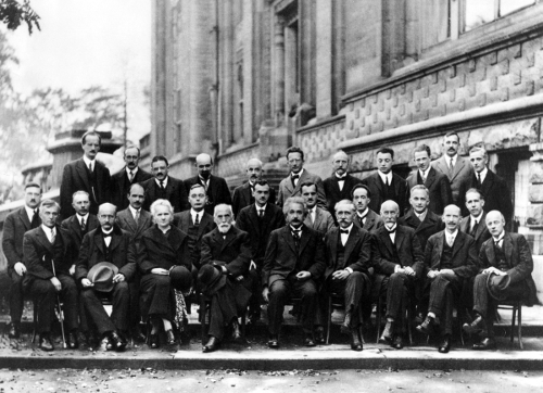 Solvay 1927 Bruselas