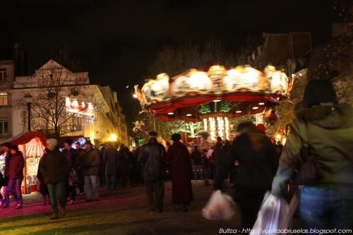 Mercado Navidad Bruselas 2009