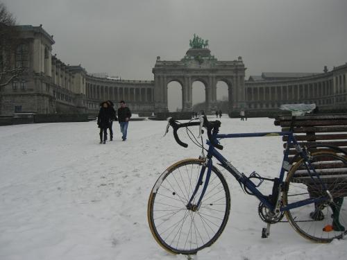 Mi bici en el parque cincuentenario