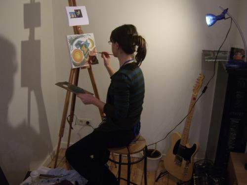 Sarah la artista