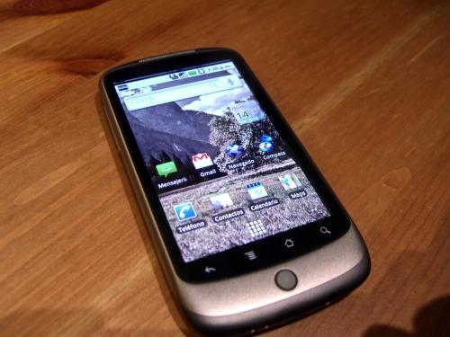 Nexus One, cuando la web se encuentra con el teléfono