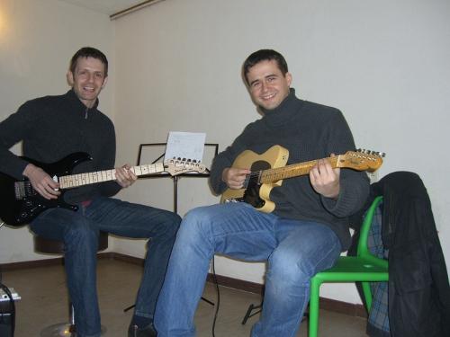El profe de guitarra