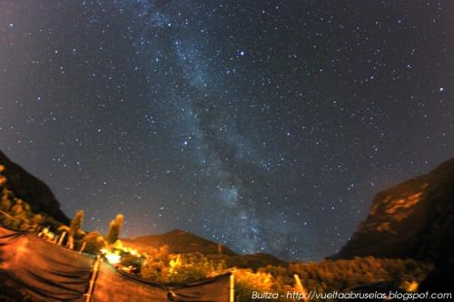 La Vía Láctea en los Alpes italianos