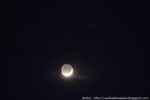 Luna cenicienta