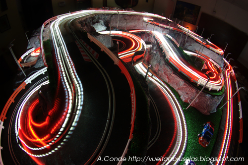 Slot cars lights