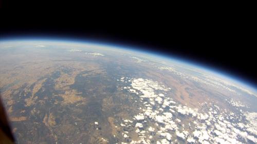 Foto a 34Km de altura