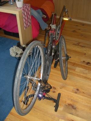 bici sin ruedas