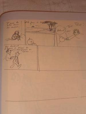 Tintin y el arte alfa version original