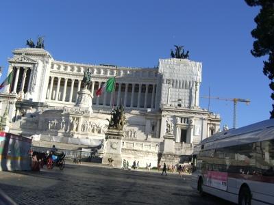 El centro de Roma