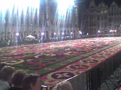 Manta de flores Bruselas