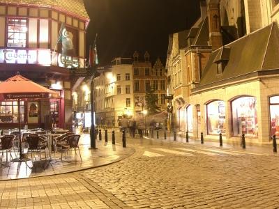 Bruselas de noche