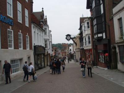 Visita a Inglaterra