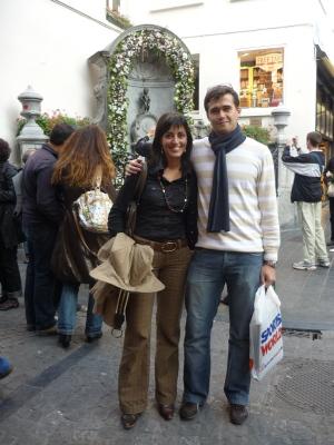 Izaskun en Bruselas