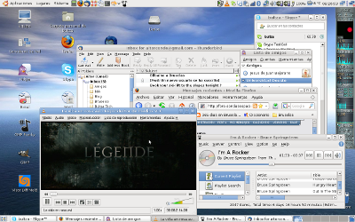 Mi escritorio en ubuntu