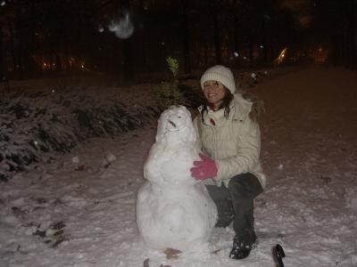 Nieve en Bruselas