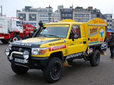 Patatas Belgas Dakar Rally!