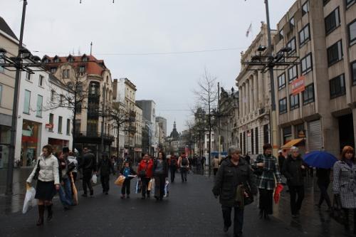 De compras en Amberes